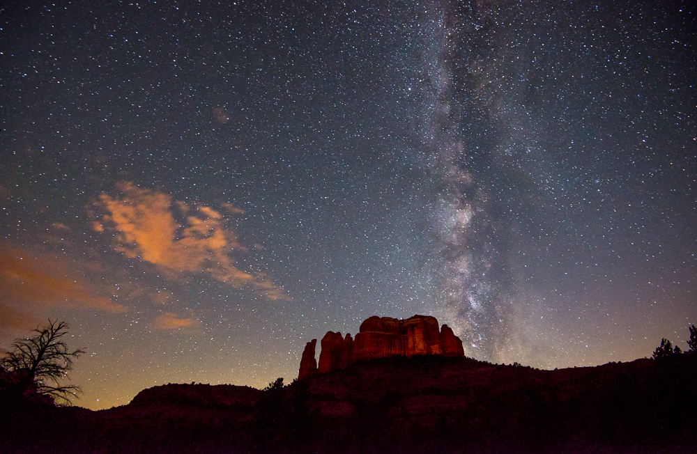 milky way sedona arizona