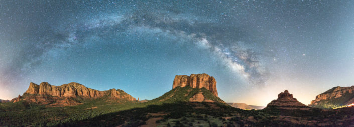sedona night photograph