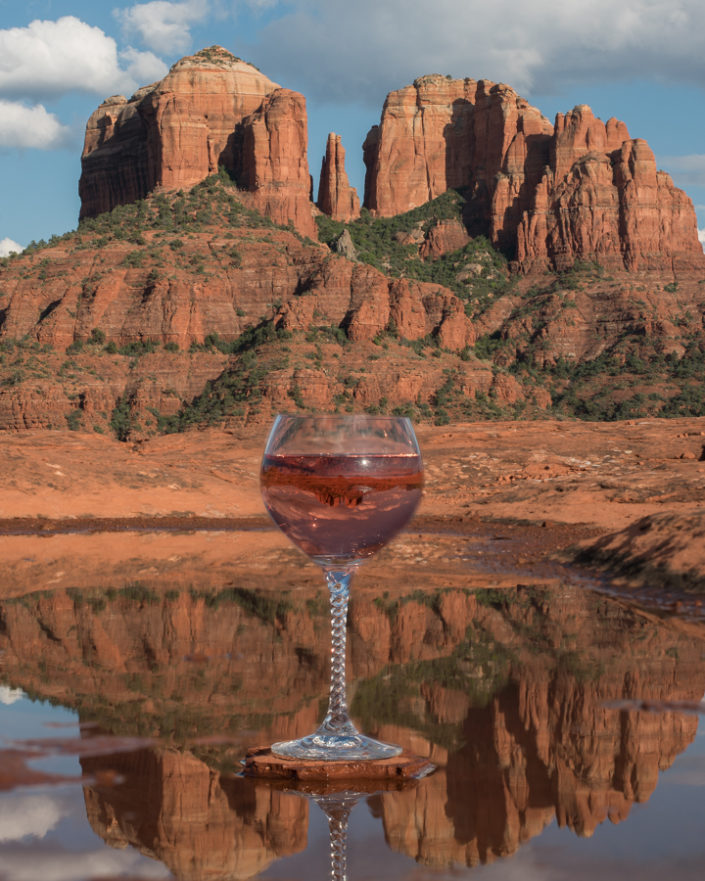 sedona wine art