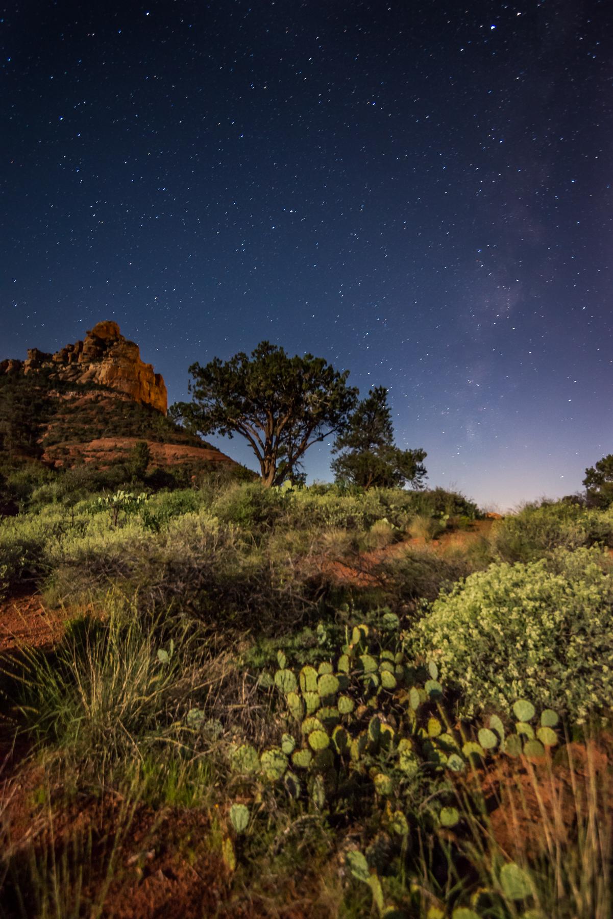 stars over sedona arizona