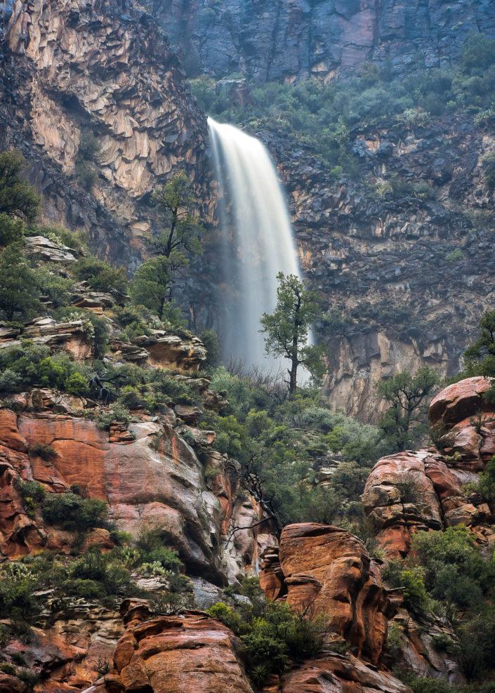 sedona waterfall