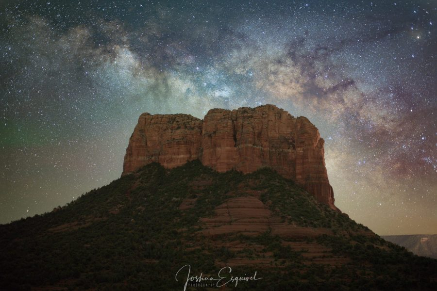 Sedona Milkyway photo