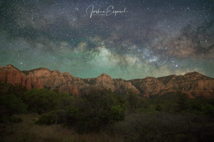 Sedona night photography